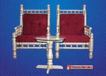 Antique Decorative Furniture - Free vector #180425