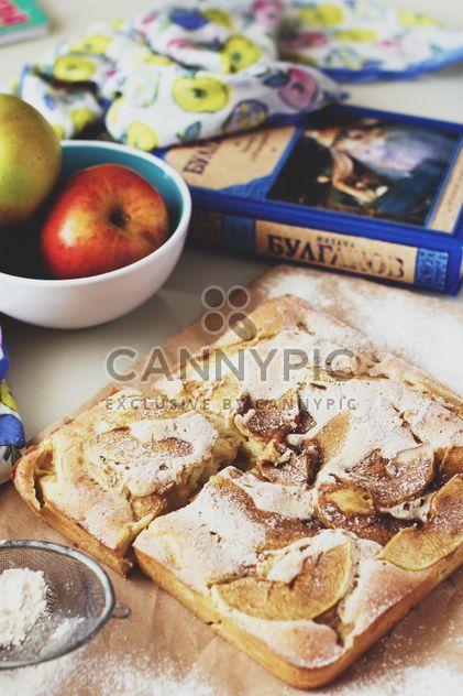 Torta de maçã caseira - Free image #182745