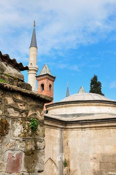 Towers and dome of mosque - бесплатный image #182895