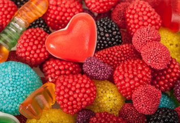 Colored candies background - Free image #183025