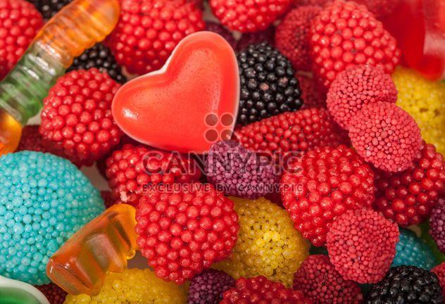 Fond de bonbons colorés - Free image #183025