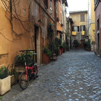 empty street in rome - Free image #183135
