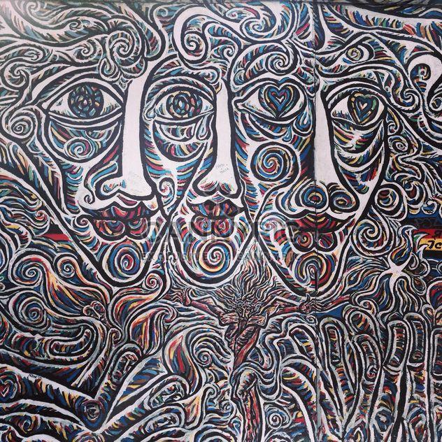 Граффити на Берлинской стены - бесплатный image #183185