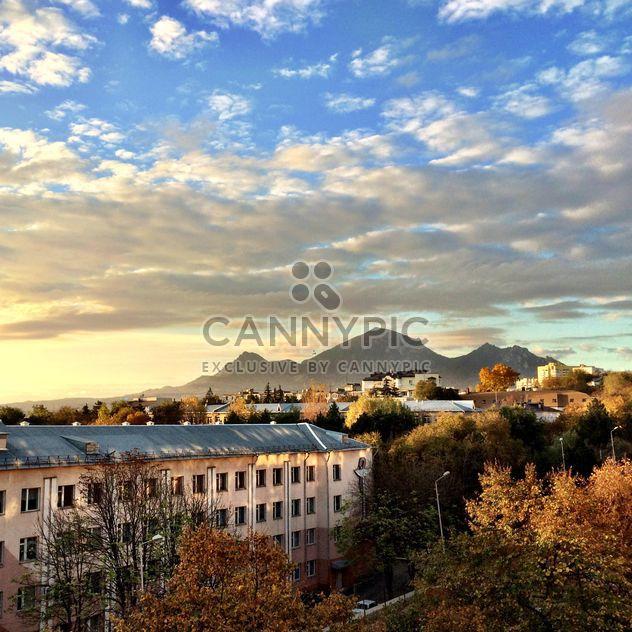 Ver os na Pyatigorsk, ao pôr do sol - Free image #183215