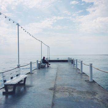 Pier in Odessa, Ukraine - бесплатный image #183305