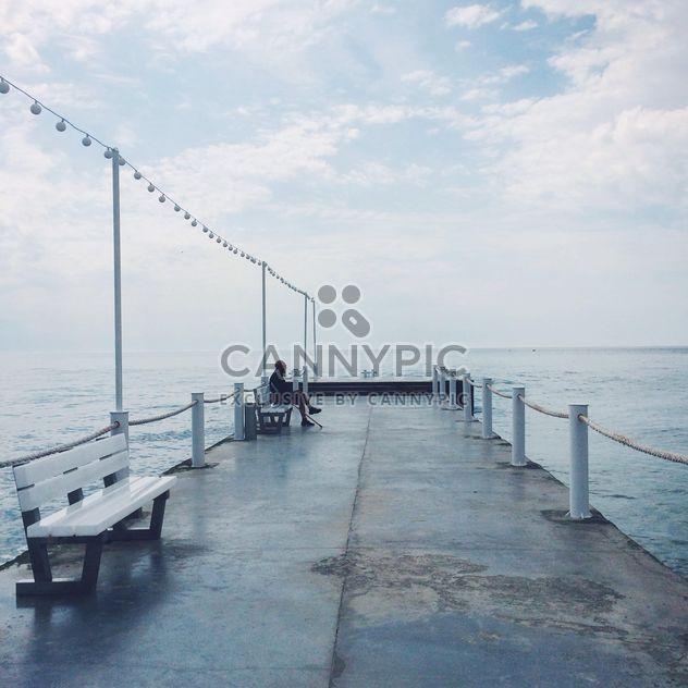 Pier in Odessa, Ukraine - Free image #183305