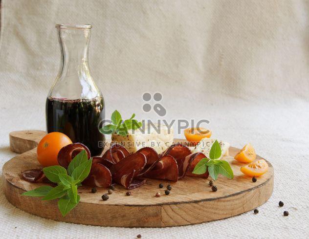 Käse, Wein und carpaccio - Free image #183345