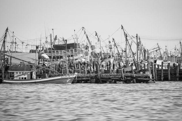 Fischerboote auf dem Wasser - Kostenloses image #183415