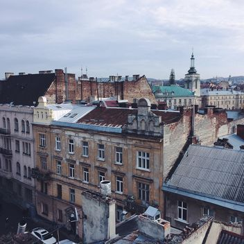 View on roofs of Lviv - бесплатный image #183525