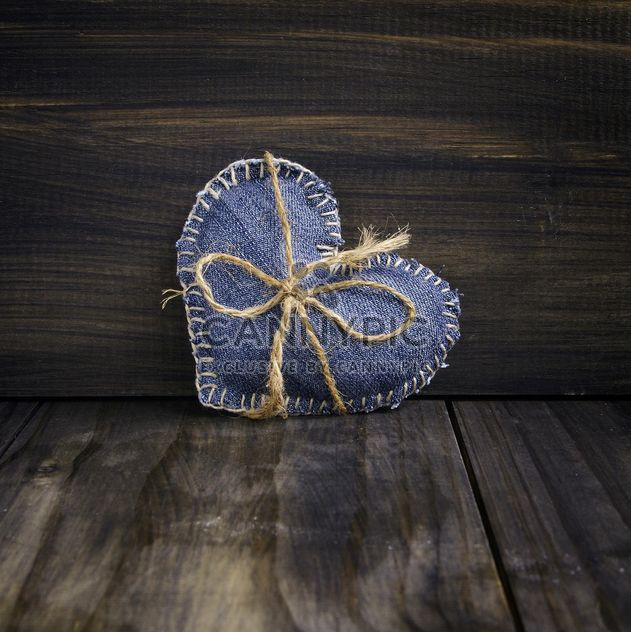 Denim heart for Valentine's day - Free image #183895
