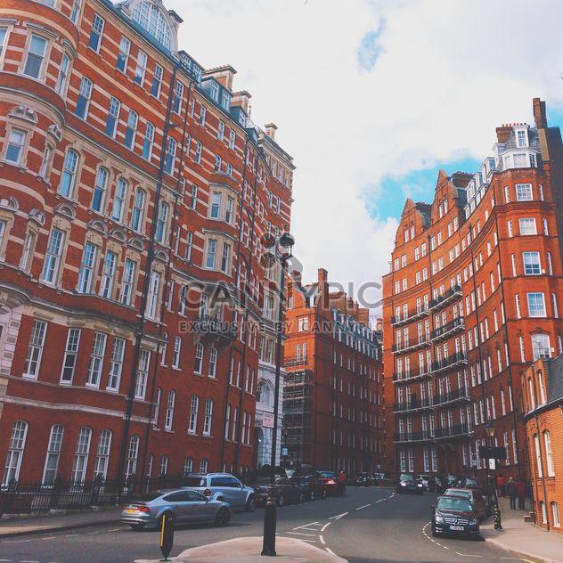 Maisons et voitures dans le centre de Londres, Angleterre - image gratuit #184055