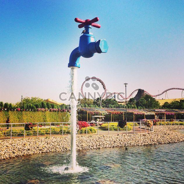 Fontaine d'eau robinet à Dubaï - image gratuit(e) #184075