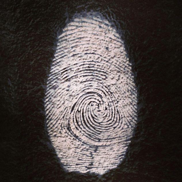 Figerprint graffity - image gratuit #184675