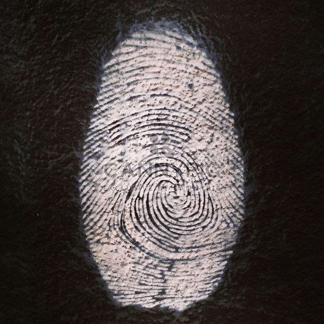 Figerprint graffity - бесплатный image #184675