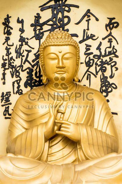 Buddha-Statue in nepal - Kostenloses image #185725