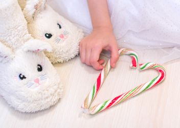 Warm bunny slippers - Free image #185815