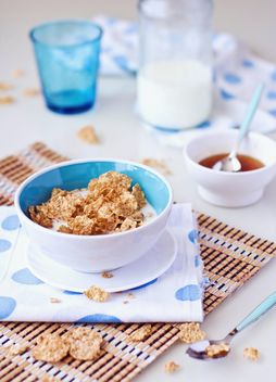 cereals and milk - Free image #185875