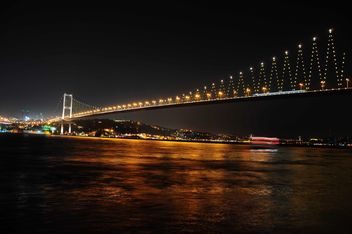 bosphorus bridge in istanbul - бесплатный image #185895