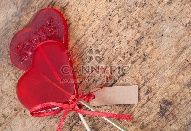 Lolipops в форме сердца - бесплатный image #185955