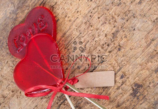Heart shaped lolipops - Free image #185955