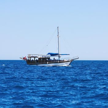 Boat in sea, Antalya - image gratuit(e) #186285