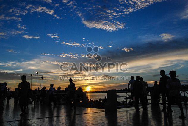 Remblai Crowdy au coucher du soleil - image gratuit #186455