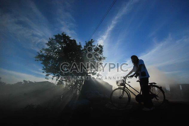 man on a bicycle - Free image #186525
