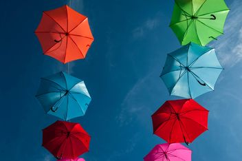 Colorful umbrellas - image gratuit(e) #186555