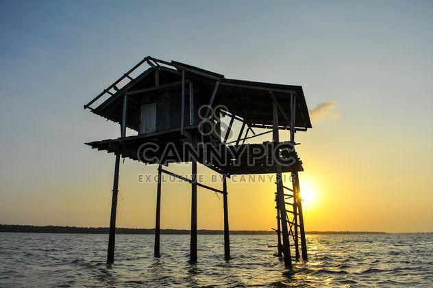 Cabane de sauveteur en mer - image gratuit #186585