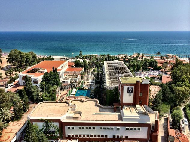 Area of hotel on seashore, Antalya - Free image #186665