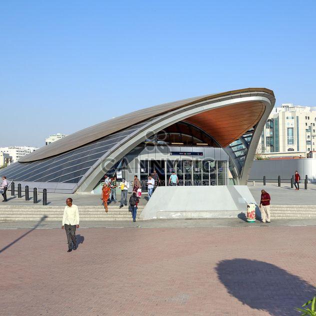 Union metro station, Dubai - Free image #186695