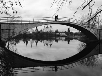 Bridge over the river, Moscow - image #186805 gratis