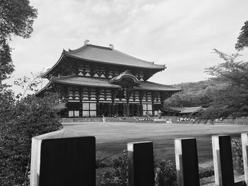 Todai-ji Temple in Nara - бесплатный image #186865