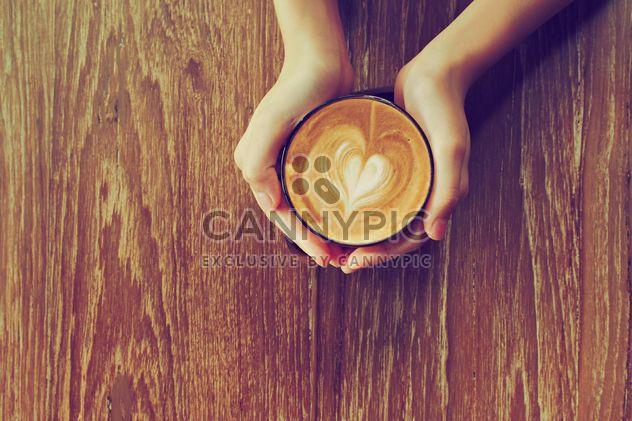 Coffee latte morning - Free image #186935