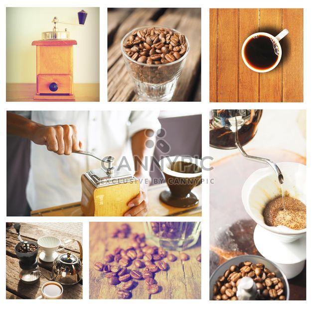 Kaffee im Jahrgang Farbe festlegen - Kostenloses image #187005