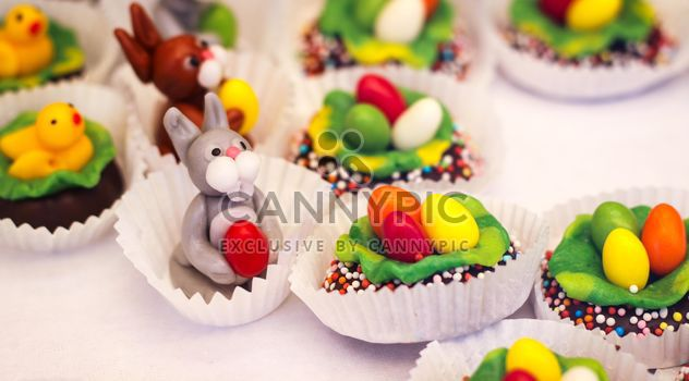 Decorative Easter sweets - Free image #187475