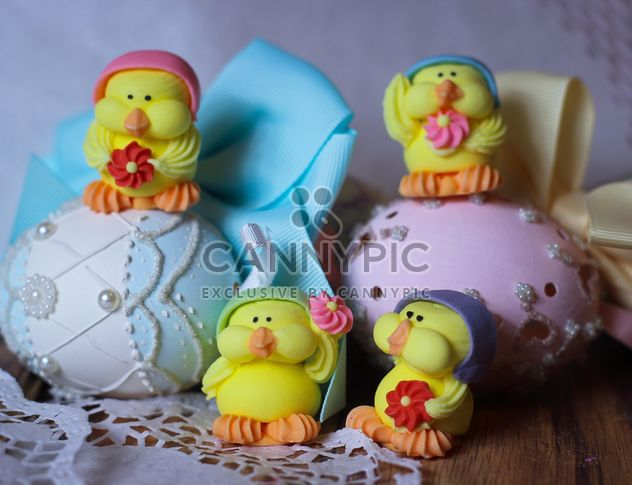 Пасхальные яйца и украшения - бесплатный image #187525