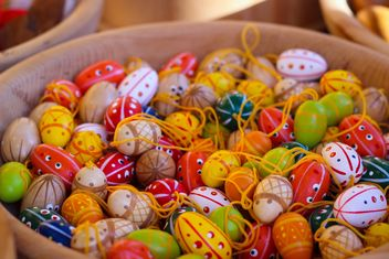 Colorful Easter eggs - Kostenloses image #187565
