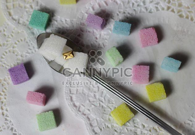 terrones de azúcar pastel colorido - image #187655 gratis
