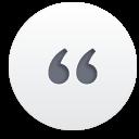 Zitat - Kostenloses icon #188215