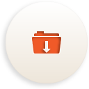 Folder Download - Free icon #188375