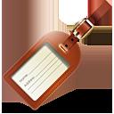 etiqueta del equipaje - icon #188845 gratis