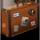Винтаж чемодан - бесплатный icon #189235