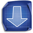 Down Arrow - icon #189455 gratis