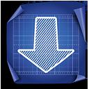 Down Arrow - Free icon #189455