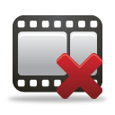Remove Film - icon gratuit #189795