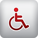 Handicapped Person - Kostenloses icon #190225