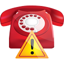 Phone Warning - icon gratuit #190285