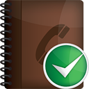 Phone Book Accept - icon #190315 gratis