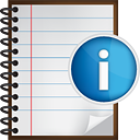 Notes Info - icon #190525 gratis